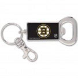 Wincraft Bruins Keychain / Key Ring Bottle Opener