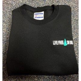 DF Embroidery Live Free or Die Sweatshirt