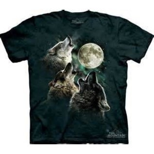 The Mountain Three Wolf Moon T-Shirt (Child)