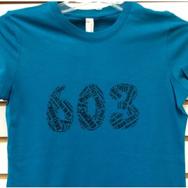 Who Doesn't Want That 603 Word Collage T-Shirt Woman's