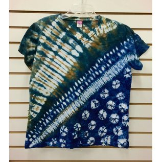 Lynn Head Tie Dye V-Neck T-Shirt