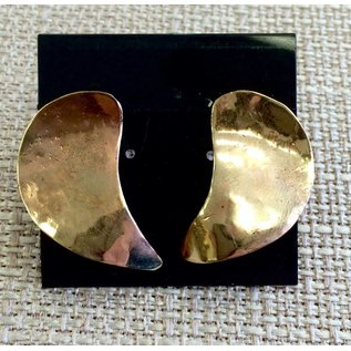 ESP Designs - Ellen Strempel Preston Copper Crescent Earrings