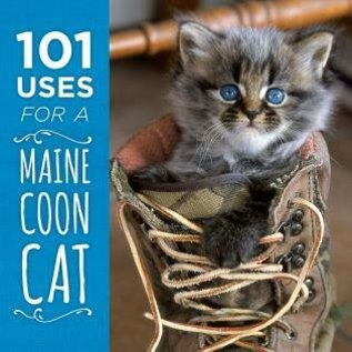 National Book Network 101 Uses for A Maine Coon Cat Book