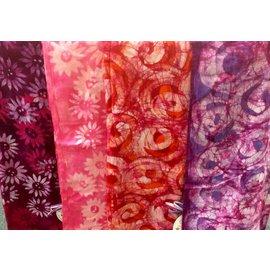 LizzyLoo Batik Infinity Cotton Scarf