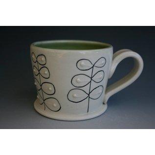 Celadon Studio Porcelain Mug