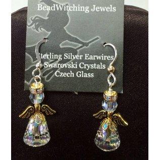 Beadwitching Jewelry Angel Earrings