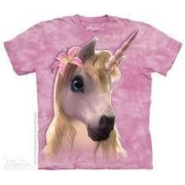 The Mountain Cutie Pie Unicorn T-shirt - Youth