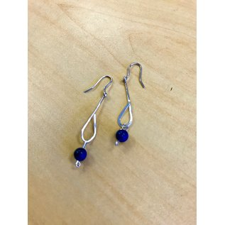 Patty Roy Jewelry Dumortierite Earrings