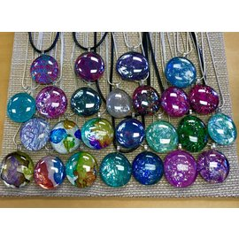 Emily Serna Glass Bauble Pendant