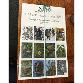 Ellen Kenny 2019 A Merrimack River Year Calendar