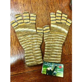 Nodrog Farms Alpaca Candy Stripe Fingerless Gloves