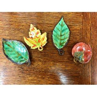 Elizabeth MacBride ceramic leaves