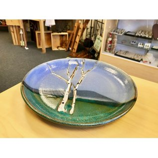 "Muddy Girls Studio 9"" Birch Tree Plates"