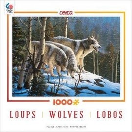 Ceaco Kids Puzzles - 1,000 Piece Wolves