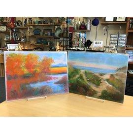 Eloise Jeffrey 9x12 Pastel Landscape