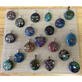 Dorothy Healey Orgonite Pendants