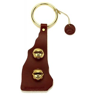 New England Bells Leather State of New Hampshire Door Bells