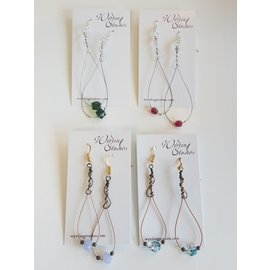 Wyrding Studios Guitar String Earrings