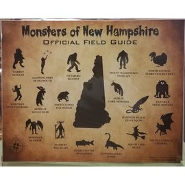 peter cleaves Monster Poster- Large