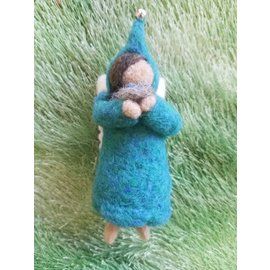 Woodland Cottage Creations Felted Ornament - large
