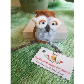 Woodland Cottage Creations Owl Ornament