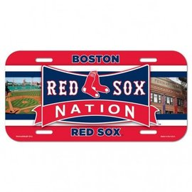Wincraft Boston Red Sox License Plate