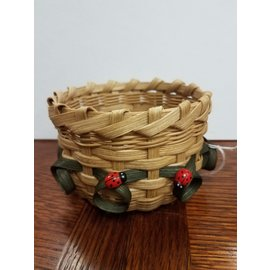 Diane Perry-Mann Small Basket round w/ladybug