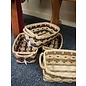Diane Perry-Mann Large Basket rectangle w/handle