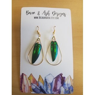 Briar & Ash Design Earrings - $20