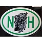 Eastern Illustrating Sticker - NH Old Man Mountain