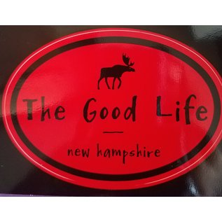 Eastern Illustrating Sticker - The Good Life Moose