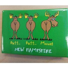 Eastern Illustrating Magnet-Butt Butt Moose