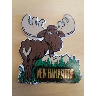 Eastern Illustrating Magnet-Cartoon Moose NH