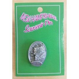 Eastern Illustrating Souvenir Pin