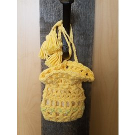 Janice D. Donnelly Bag - Crochet Yellow