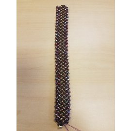 Janelle Woodland Bracelet-Wide Herringbone
