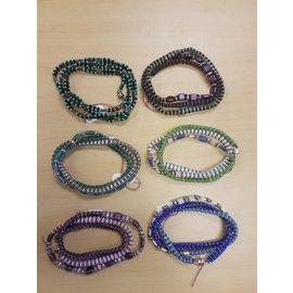Janelle Woodland Bracelet-Triple Wrap