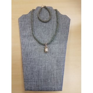 Janelle Woodland Set-Bracelet/Pendant