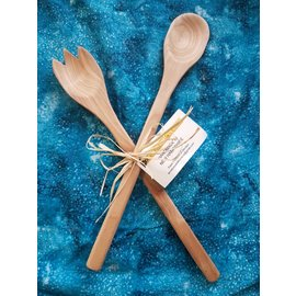 Windsor Candle Wood Salad Spoon Set