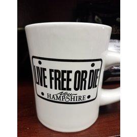 Eastern Illustrating Mug:  Live Free or Die Diner