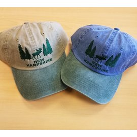 Eastern Illustrating Hat:  NH Tree with Moose