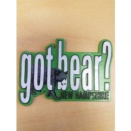 Eastern Illustrating Magnet:  Got Bear?