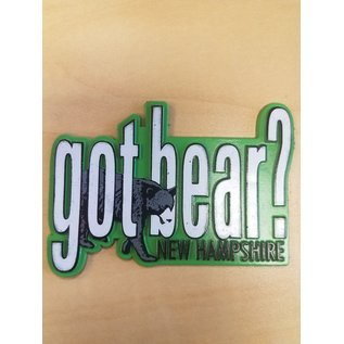 Eastern Illustrating Magnet:  Got Bear?