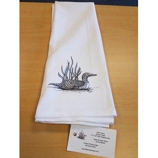 Duane Bean Towel:Loons
