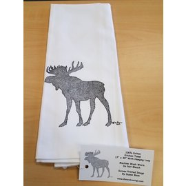 Duane Bean Towel:Moose