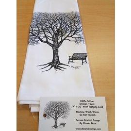 Duane Bean Towel:Tree