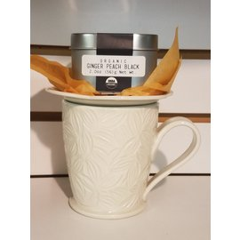 White Heron Tea Ginger Peach Black Tea 2 oz