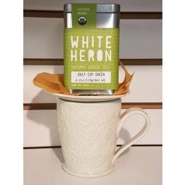 White Heron Tea Daily Cup Green 4 oz