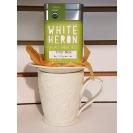 White Heron Tea Citrus Green 4 oz