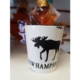 Eastern Illustrating Shot: NH Moose White Ceramic